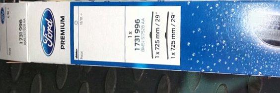 Оригинальные дворники на Форд Фокус 3
